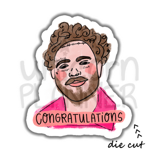 Post Malone Congratulations (DIE CUT)