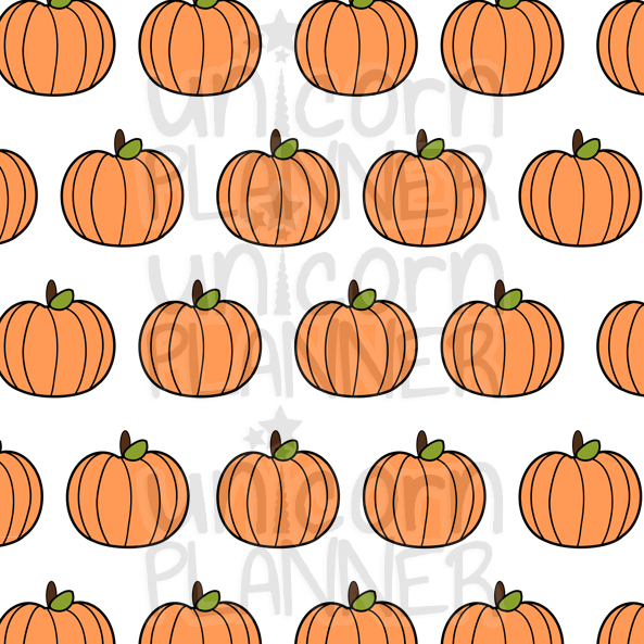 Pumpkins Printable Paper (DIGITAL DOWNLOAD)
