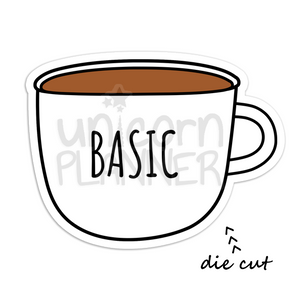 Coffee Cup - Basic (DIE CUT)