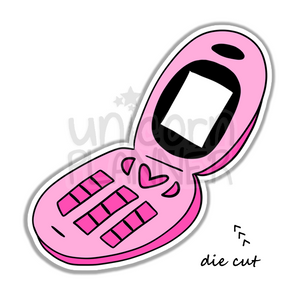 Retro Cell Phone (DIE CUT)