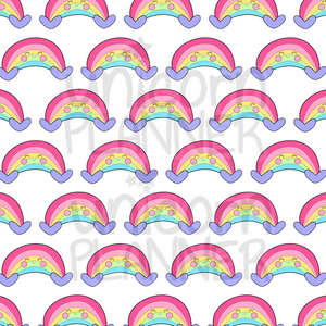Roxi Rainbow Printable Paper (DIGITAL DOWNLOAD)