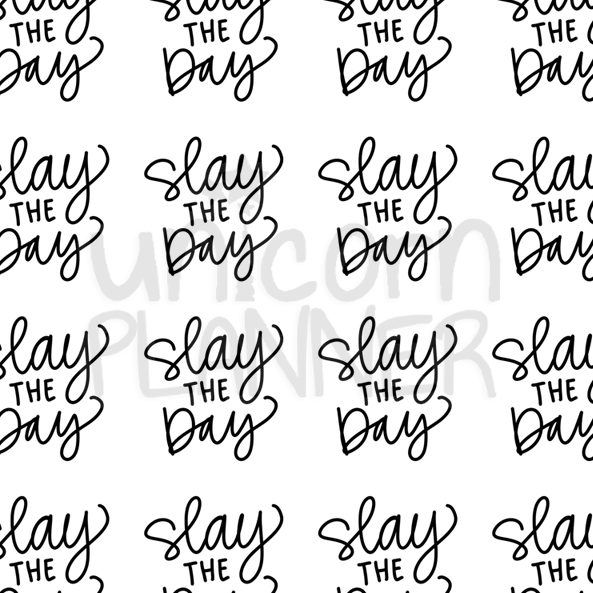 Slay the Day Printable Paper (DIGITAL DOWNLOAD)