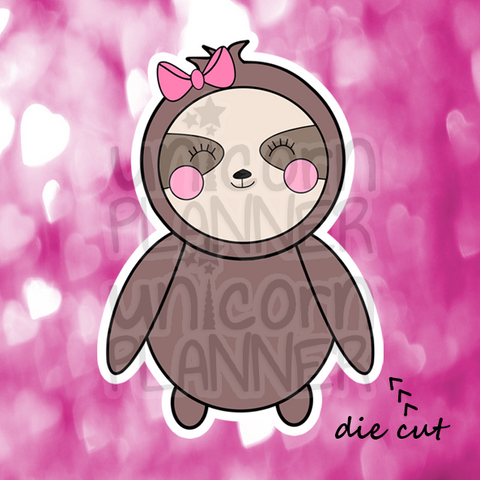 Stella the Sloth (DIE CUT)