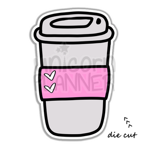 Travel Coffee Cup (DIE CUT)