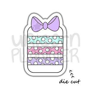 Washi Holder - Polka Dot (DIE CUT)
