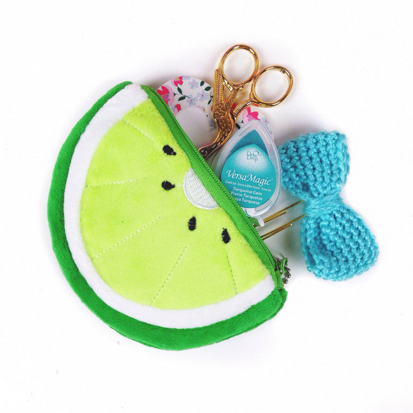 Lime Pouch - Unicorn Planner