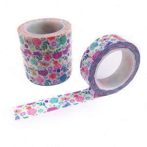 Butterflies and Blossoms Washi Tape
