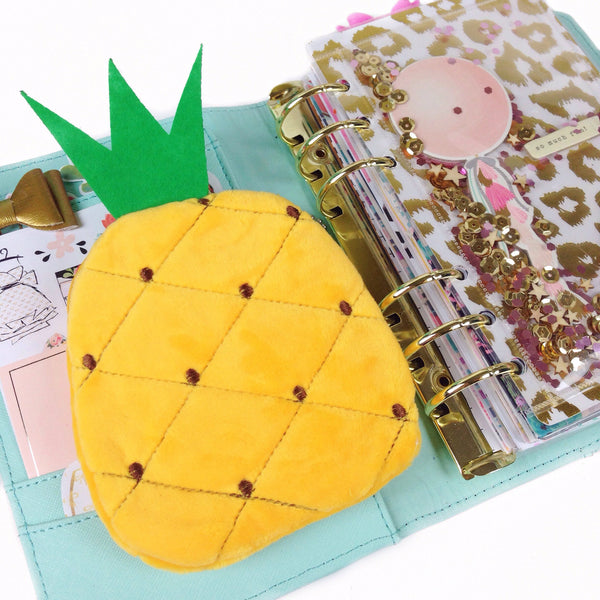 Pineapple Pouch - Unicorn Planner