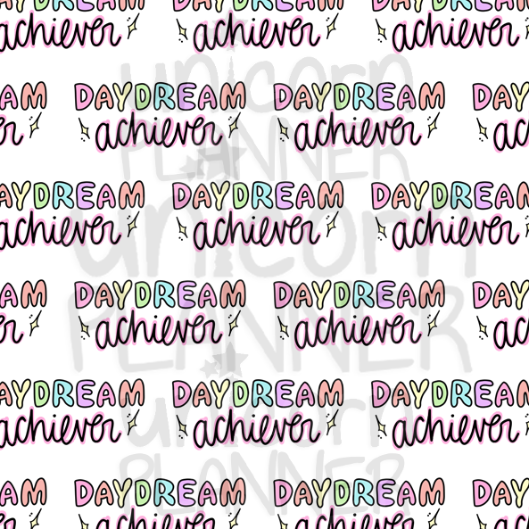 Daydream Achiever Printable Paper (DIGITAL DOWNLOAD)