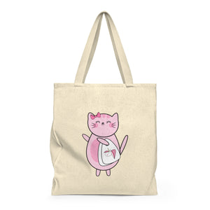Kitty Cotton Shopping Bag Tote