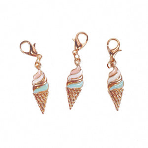 Enamel Ice Cream Charm