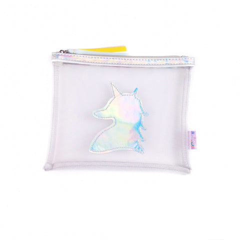 Iridescent Unicorn Pouch