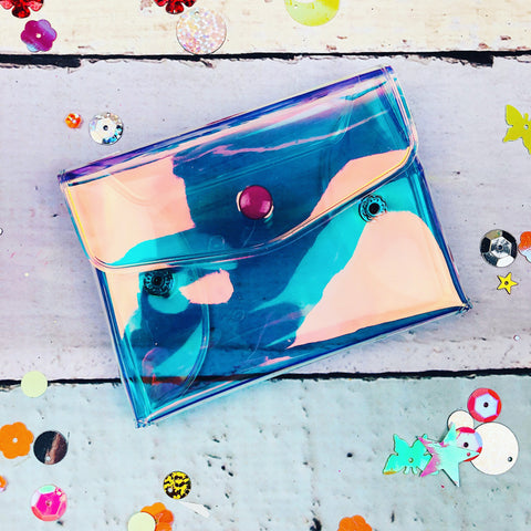 Iridescent Card Pouch