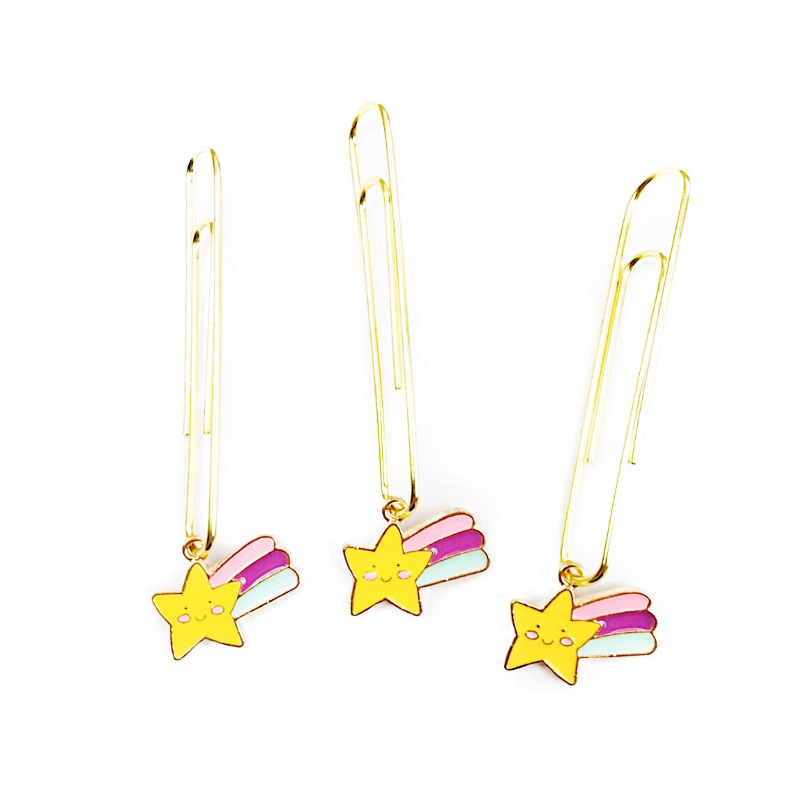 Shooting Star Paper Clip