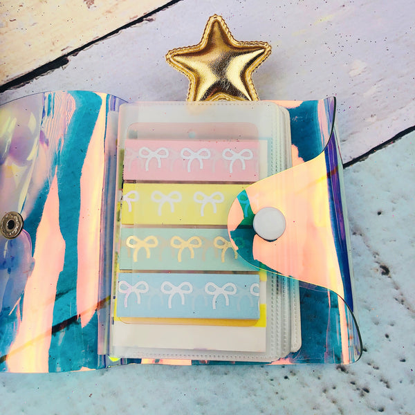 Iridescent Washi Wallet