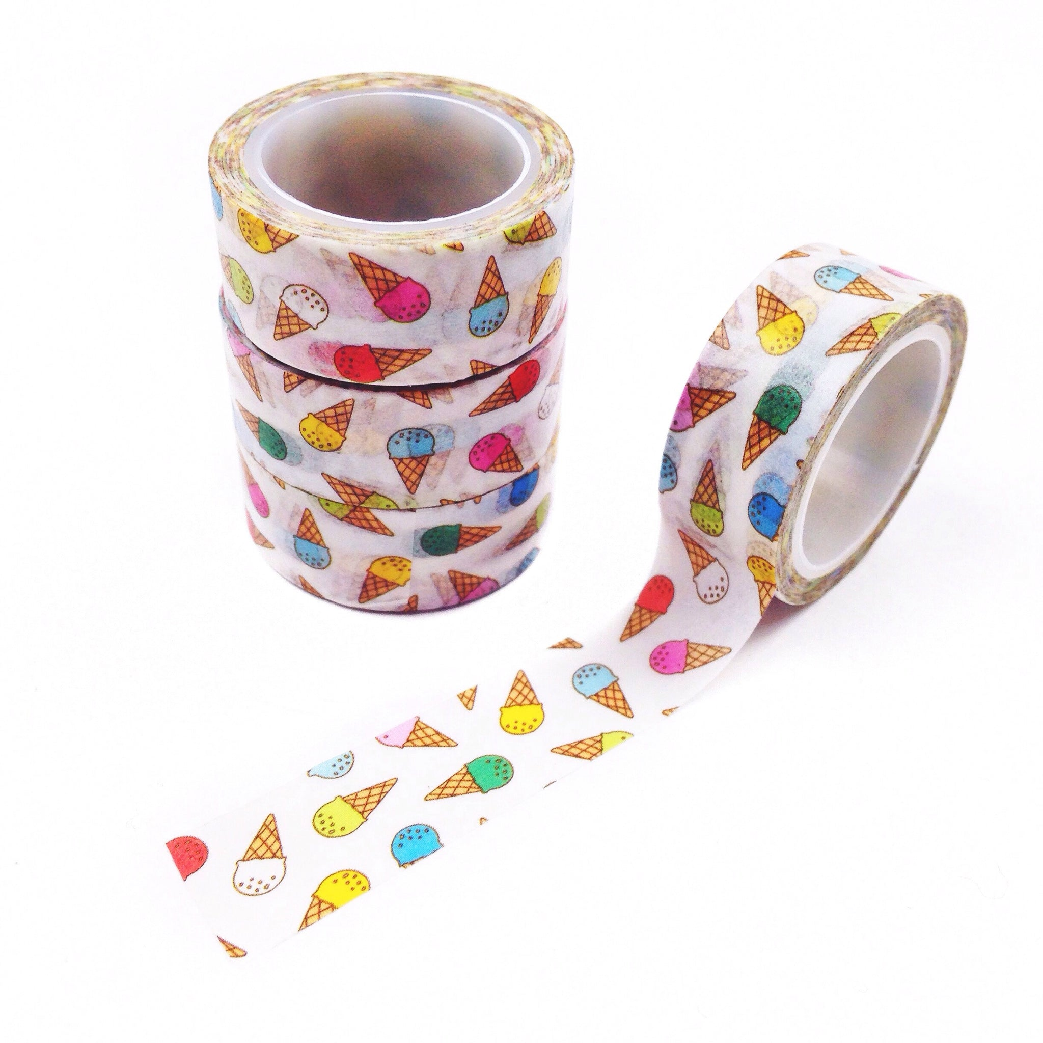 Ice Cream Cone Washi Tape