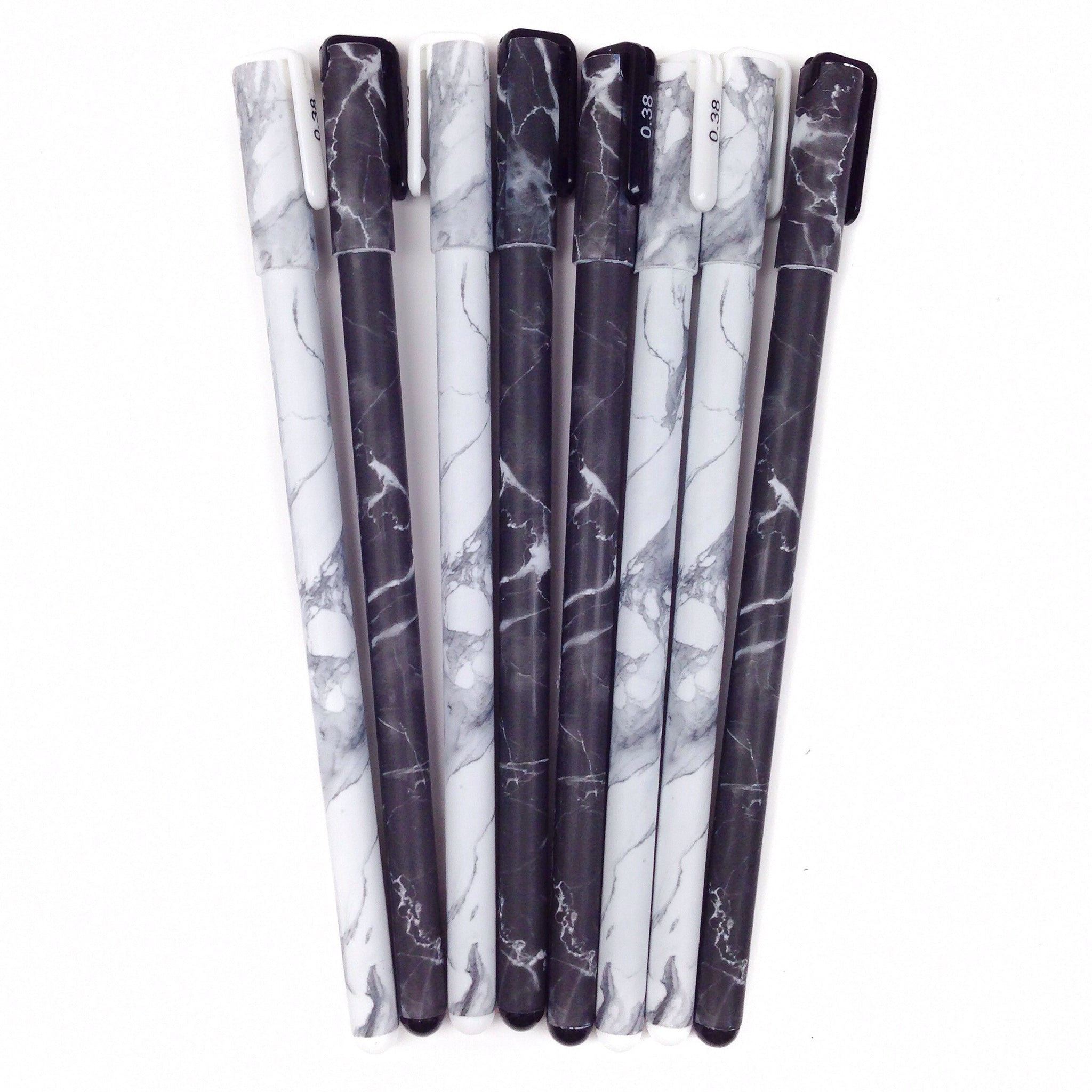 Marble Gel Ink Pen