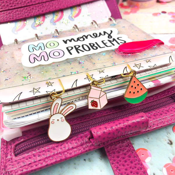 Strawberry Milk Carton Paper Clip