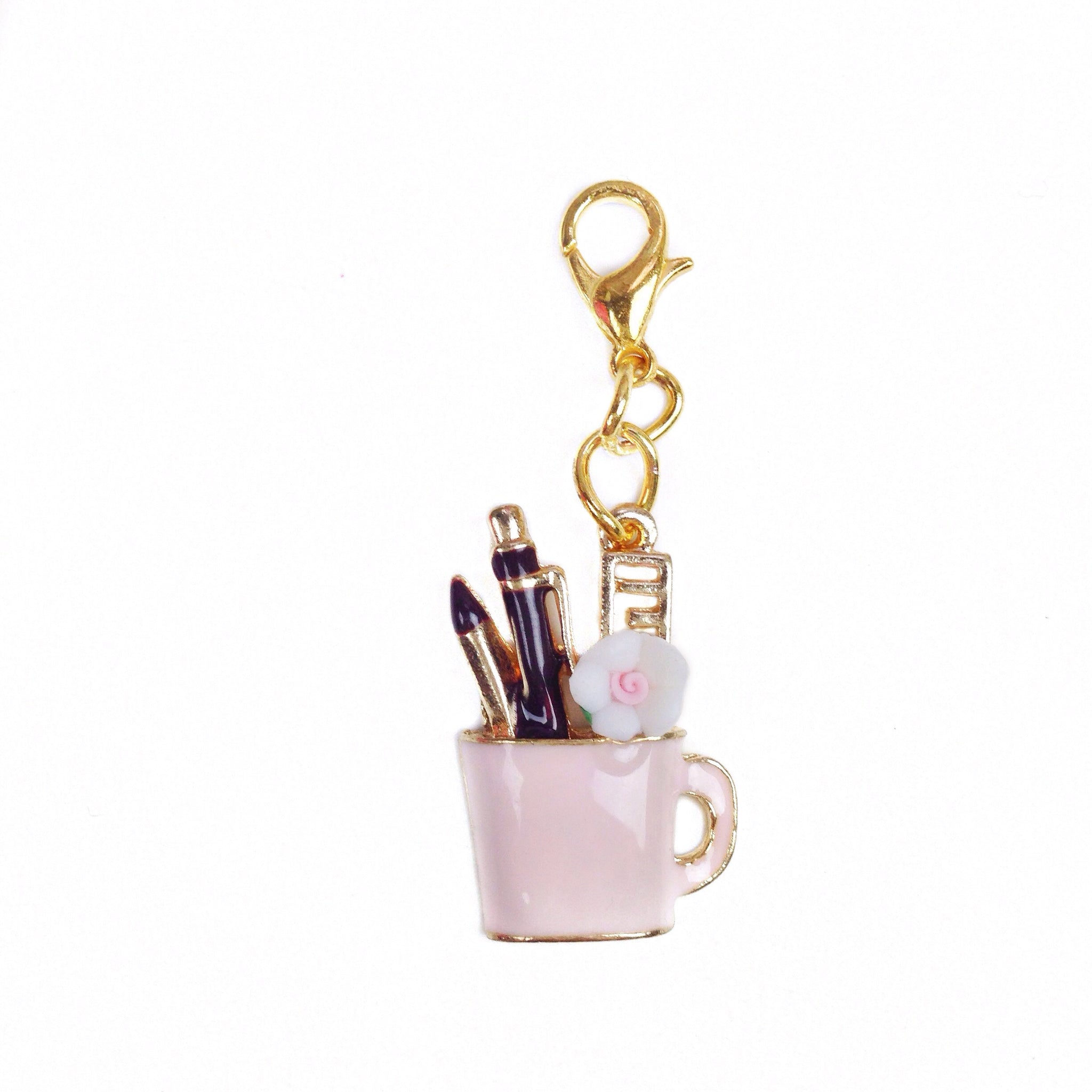 Planner Cup Charm
