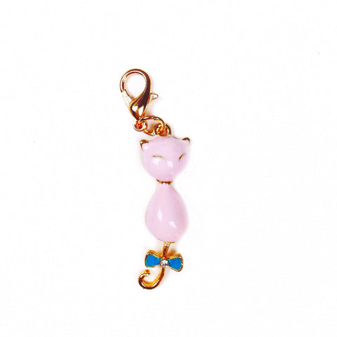 Enamel Kitty Charm