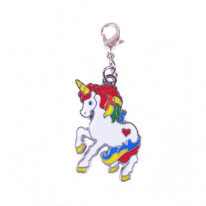 Rainbow Unicorn Charm