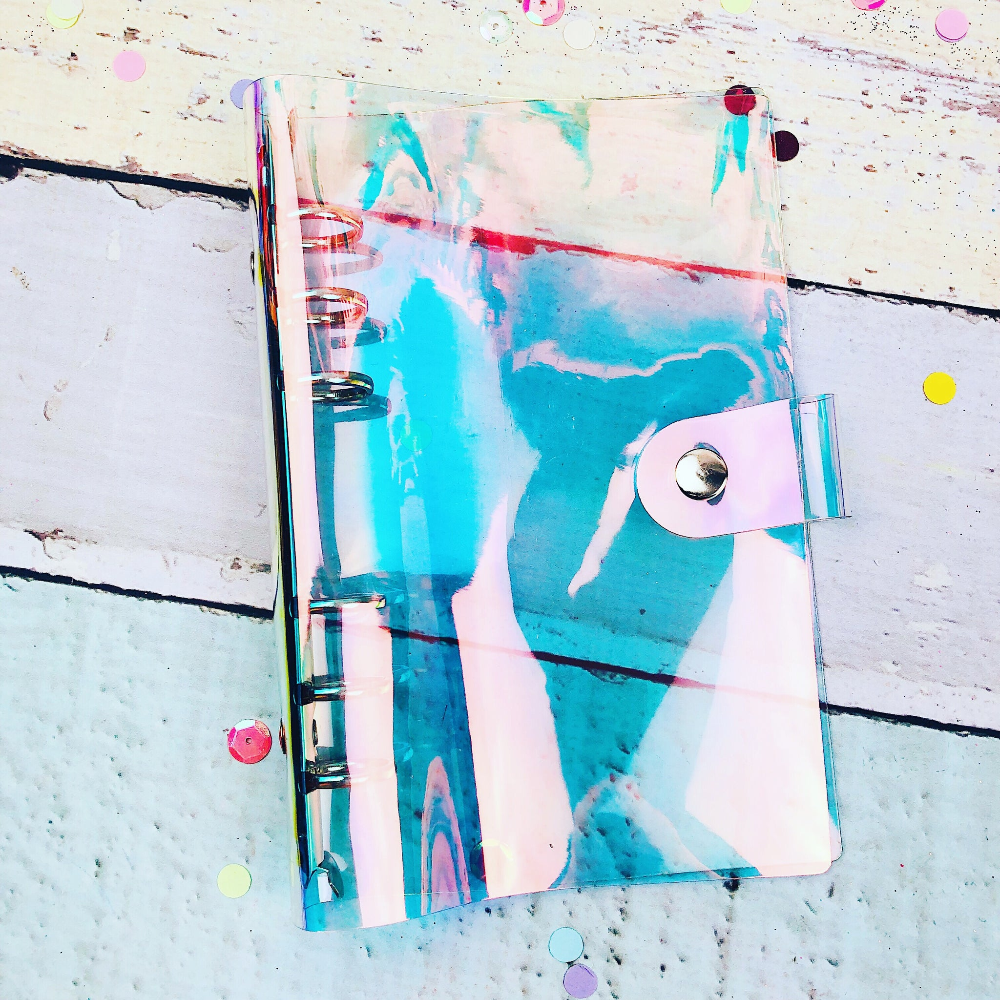 Iridescent Personal Planner