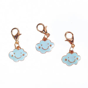 Enamel Cloud Charm