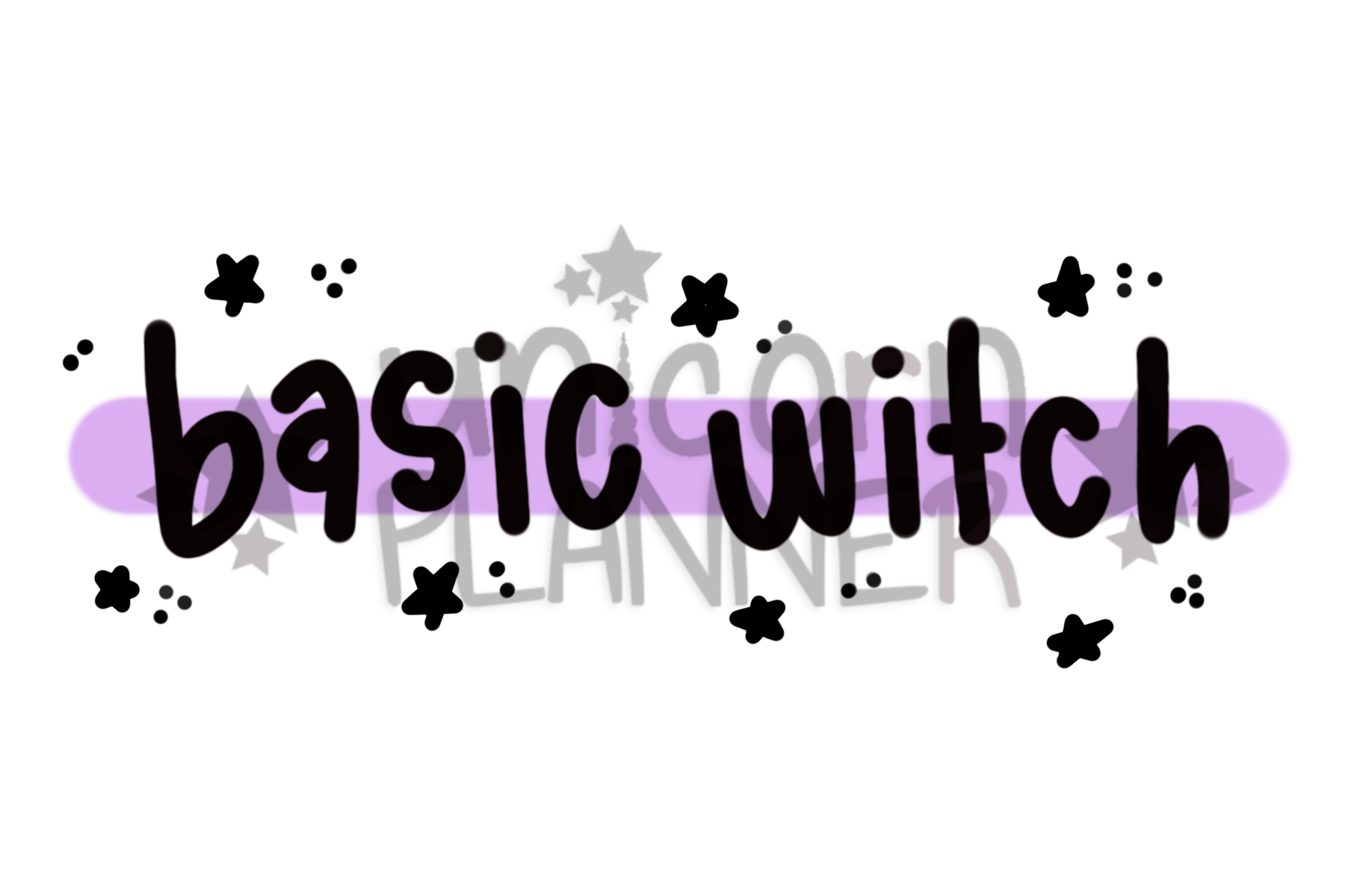 Basic Witch (DIGITAL DOWNLOAD)