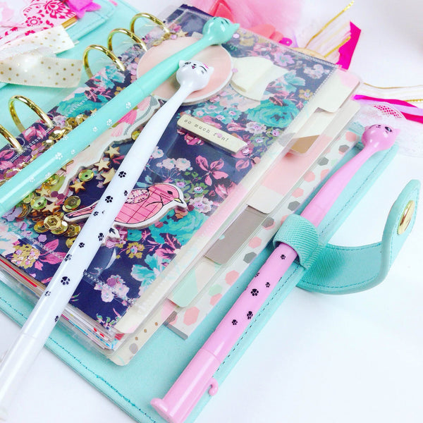 Kitty Gel Ink Pen - Unicorn Planner