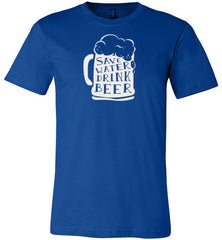 Absolute Wear Save Water Drink Beer T-Shirt