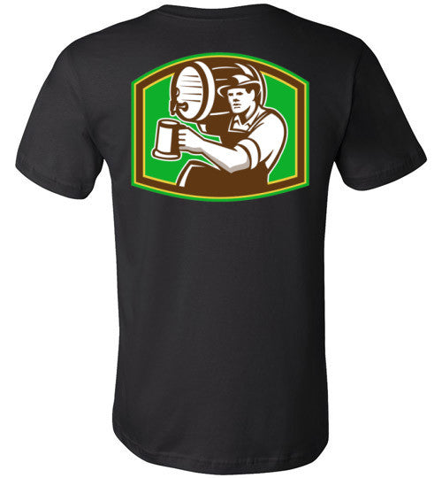 Absolute Wear Beer Keg and Mug T-shirt