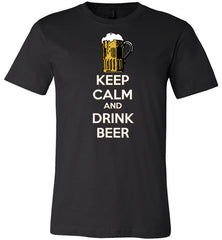 Absolute Wear Keep Calm and Drink Beer T-shirt