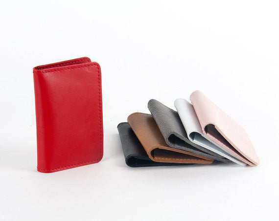 Double Leather Wallet