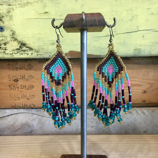 Huichol Earrings