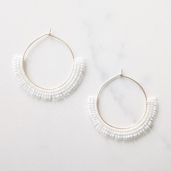 Betty Alida Fringe Earrings