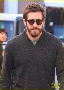 Jake Gyllenhaal was seen leaving a medical building in Beverly Hills.