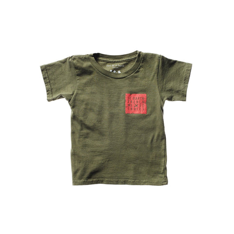 PAOLO UNISEX KID TEE MAKE LOVE NOT WAR