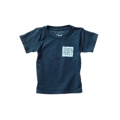 PAOLO UNISEX KID TEE GREEN LAKE