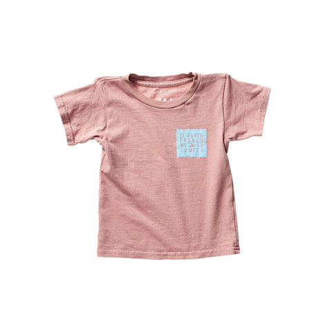 PAOLO UNISEX KID TEE DUSTY ROSE