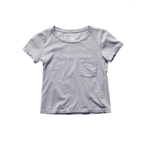 PATI POCKET TEE PEBBLE GREY
