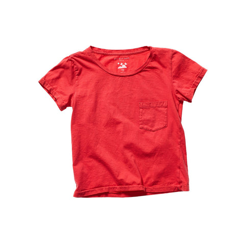 PATI POCKET TEE RED ARTIST