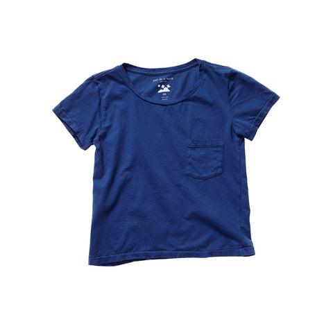 FRANÇOIS DISTRESSED TEE FISHERMAN BLUE