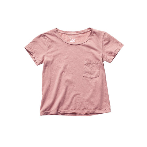 PATI POCKET TEE DUSTY ROSE