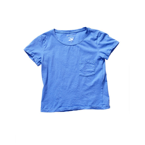 PATI POCKET TEE GRAND BLEU