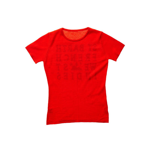 CASHMERE TEE RED