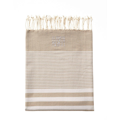 BEACH TOWEL GREY