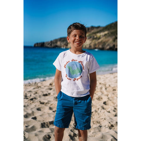 A GOOD TEE (KIDS) : MAKE OUR PLANET GREAT AGAIN PAOLO TEE