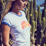 LOULA GRAPHIC TEE - Pati De St Barth