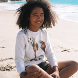 AQUARELLE KIDS SWEAT GOAT - Pati De St Barth