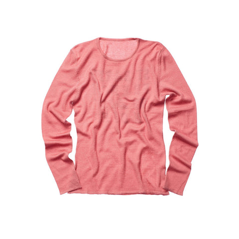CASHMERE WOMEN CREW NECK DUSTY ROSE